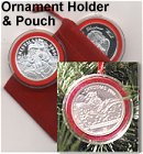 Ornament Holder & Red Velvet Pouch